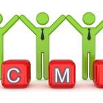 CMS concept. — Stock Photo #10977386