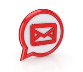 Ikona pošta — Stock fotografie