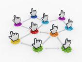 Concept de réseau. — Photo