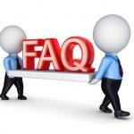FAQ concept. — Stock Photo
