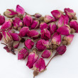 Stock Photo: Chinese roses for tea