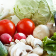 Fresh vegetable set — Stock Photo