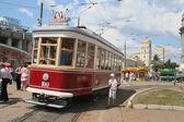 古い路面電車 — ストック写真