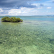Panorama over a  lagoon — Stock Photo