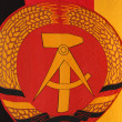 GDR Flag — Stock Photo