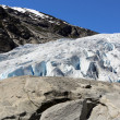 Stock Photo: Nigardsbreen Glacier