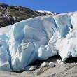 nigardsbreen glacier — Stockfoto