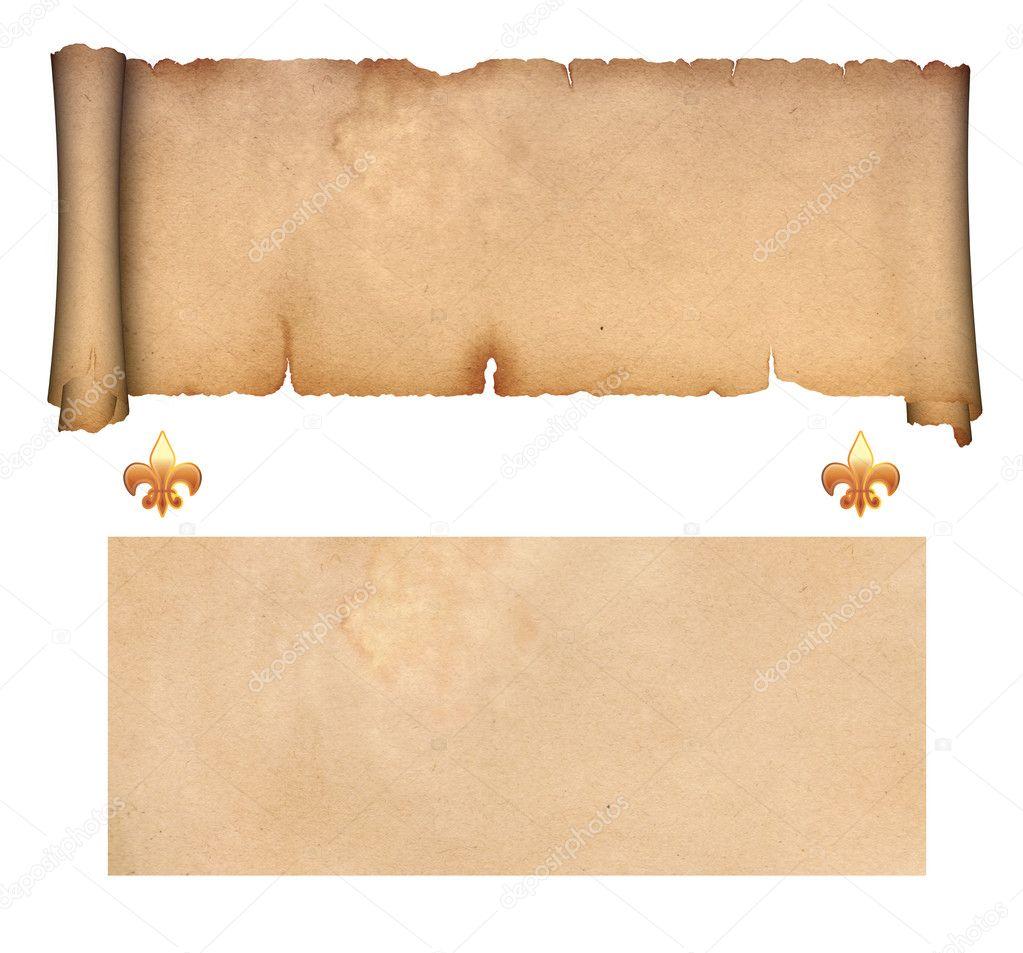 Antique Scroll Paper: Stock Photo © Ke77kz #11042876