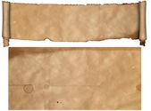 Antique scroll and old paper. — Stok fotoğraf