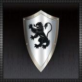 Escudo heráldico. — Foto de Stock