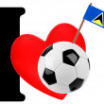 I love soccer ball — Stock Photo #10883422