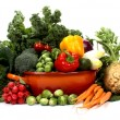 Stock Photo: Fruits and vegetables