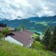 Summer mountain country view. - Stockfoto