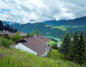 Summer mountain country view. — Stock Photo