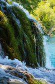 Waterfall in Plitvice Lakes National Park (Croatia) — Foto Stock
