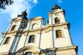 церковь в львове, украина — Стоковое фото