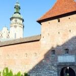 "LVIV, UKRAINE - MAY 10: historical building of ""Royal arsenal"" ( — Stock Photo #12042760"