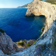 Summer Ionian Sea rocky coastline (Lefkada, Greece) — Stock Photo