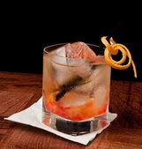 Whiskey old fashioned — Stock Photo