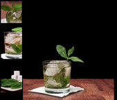 Mint Julep Cocktail — Stock Photo