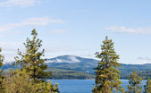 Coeur d alene lake — Stock Photo