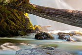 Snow Creek Falls — Stock Photo