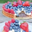 Fresh fruit tart — Foto Stock
