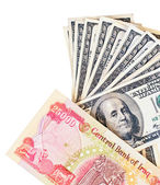 динар обмен — Стоковое фото
