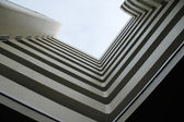 Geometric building — Stock Photo