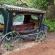 Stock Photo: Old hearse .