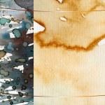 acquerello astratto — Foto Stock