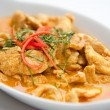 Dried red pork coconut curry (Panaeng) : Delicious and famous Thailand food — Stock Photo #11182707