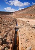 Fuerteventura, Canary Islands, Dam de los Molinos — Stock Photo