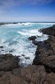 Oceano schiumogeno — Foto Stock