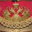 The double-headed eagle, the emblem of the Russian Empire — Stock Photo