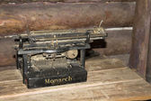 "Old typewriter ""Monarch"" — Stockfoto"