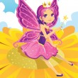 Stock Vector: Fairy princess