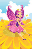 Fairy princess — Stock Vector