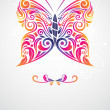 Butterfly abstract — Stock Vector