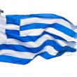 Greek Flag - Stock Photo