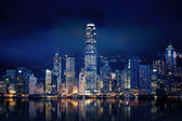Hong Kong Lights — Stock Photo