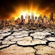 Environmental Disaster - Stockfoto