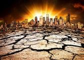 экологическая катастрофа — Стоковое фото