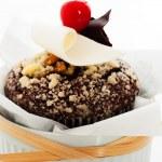Chocolate muffin — Stock Photo #11450355