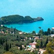 Paleokastritsa gulf on Corfu island, Greece — Stock Photo #11332123