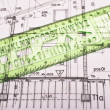Stock Photo: Architectural plan