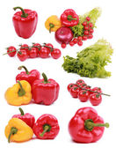Set of vitamin collection — Stock Photo