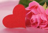 Romantic theme design — Stock Photo