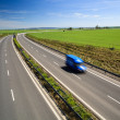 Highway traffic on a lovely, sunny summer day — Stock Photo #10957692