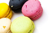 French dessert colorful mararoon — Foto Stock